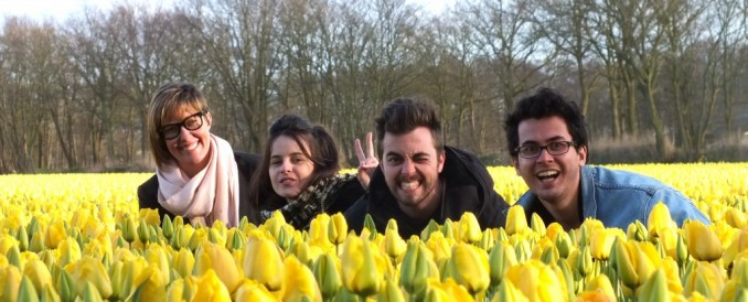 The Glorious Flowers of the Netherlands!