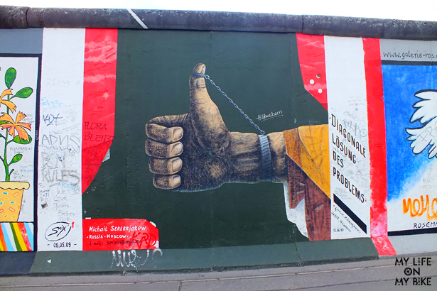 East Side Gallery, Berlin, Photo Fernanda Hinke